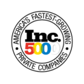 Inc 5000 America's Fastest Growing Private Companies. Awarded for 4 years in a row: 2015, 2016, 2017, 2018