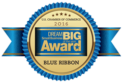US Chamber of Commerce 2016 Dream Big Small Business blue ribbon award