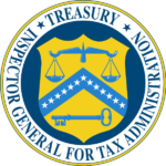 Inspector general for tax administration treasury logo